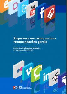 Capa de fundo azul em que se vê os logotipos de várias redes sociais enfileirados