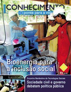 Capa: Revista Conhecimento -Ponte para a Vida - ano2 - n4