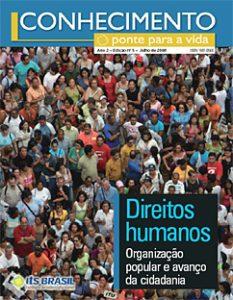 Capa: Revista Conhecimento -Ponte para a Vida - ano2 - n5