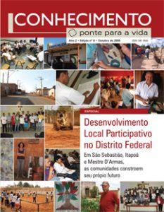 Capa: Revista Conhecimento -Ponte para a Vida - ano2 - n6