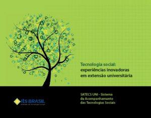 Capa: Tecnologia Social: experiências inovadoras em extensão universitária